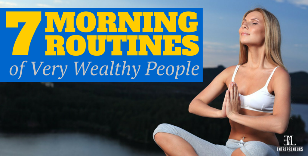 Routines of Very Wealthy People