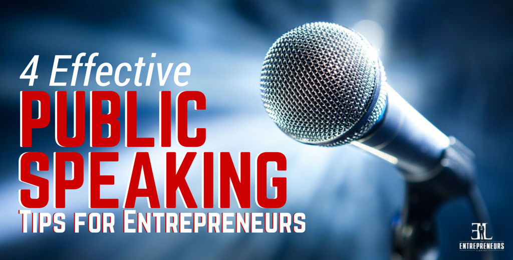 Public Speaking Tips for Entrepreneurs