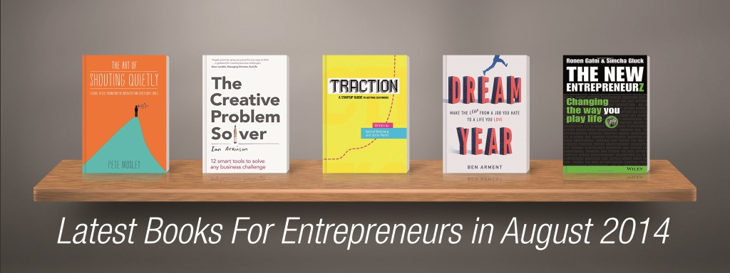 Latest Books For Entrepreneurs in August 2014