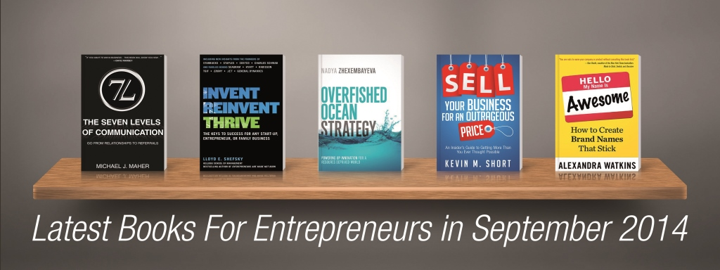 Latest Books For Entrepreneurs