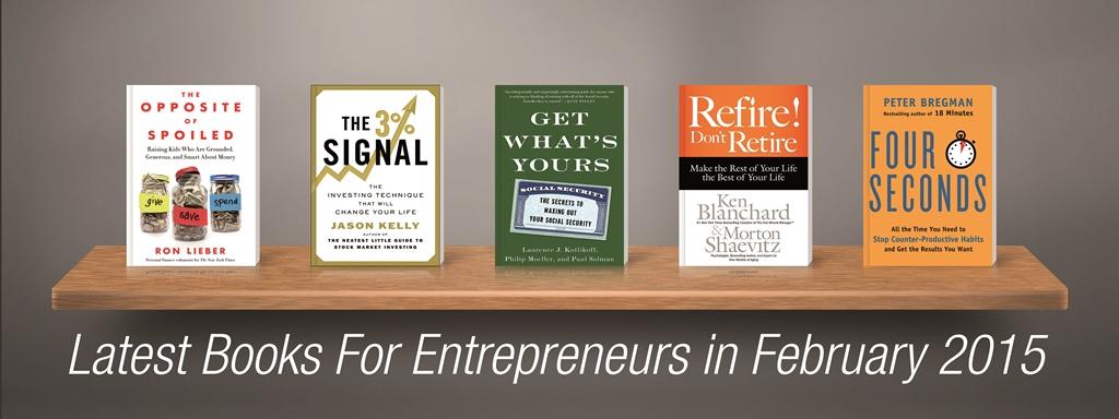 Latest Books For Entrepreneurs