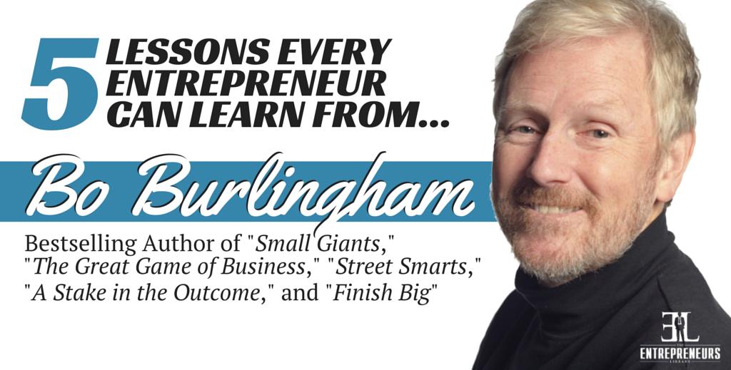 Bo Burlingham